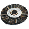 WHEEL BRUSH OR MORE COMMANLY KNOWN AS PAISA BRUSH USED FOR POLISHING ON METAL IN JEWELLERY INDUSTRY