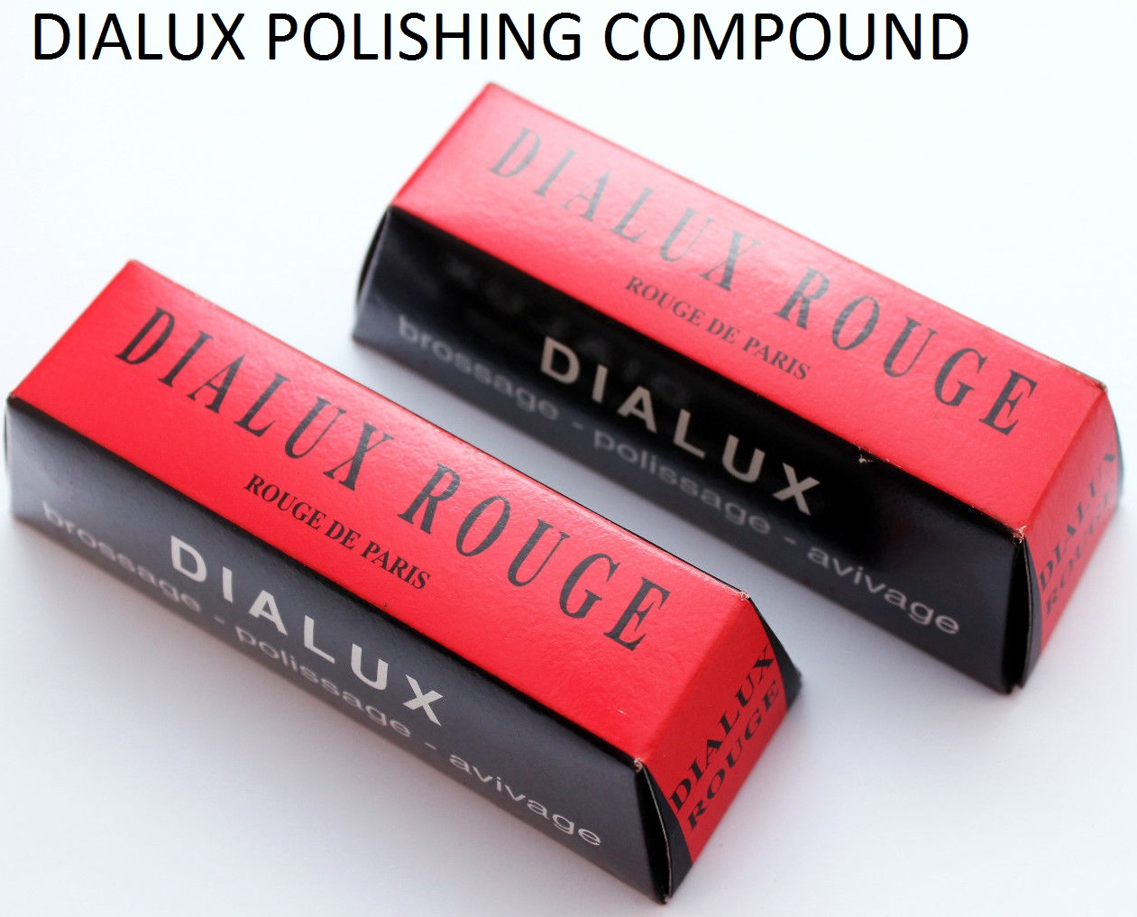Dialux Polishing Compound, Dialux rouge