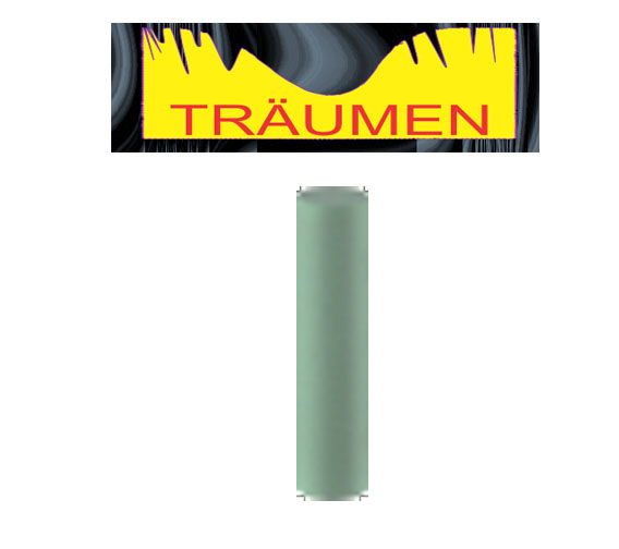 green silicone polisher, green silicone cylinder, traumen, GS06